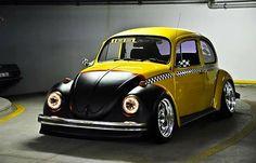 Incredible Volkswagen Beetle Taxi