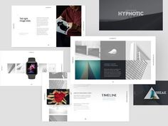 HYPNOTIC Presentation Builder / GIFT by GoaShape on @creativemarket Professional creative design Presentation Template Slides. Creative, modern, clean, minimalist, trendy, marketing Promotion Promo Posts for Business, Proposal, Marketing, Plan, Agency, Startups, Portfolio Design Layout.