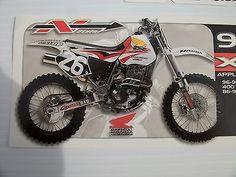 Xr250 Xr400 96 - 98 Xr600 86 - 98 Tanque calcomanías gráficos n-style