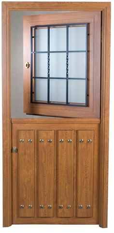 Beautiful eyebrow arch top double wrought iron door with for Modelos de puertas