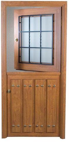 Beautiful eyebrow arch top double wrought iron door with for Puertas metalicas modelos