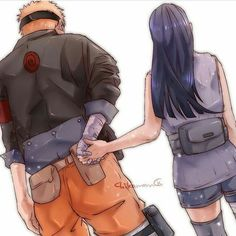 'Post *hold her hand and smile* ehh... I love you Hinata ❤️ Admin:Cute and Beautiful fan art of Naruto and Hinata ❤️ #Qtod: what are Your favorite anime?? #Atod:Too many Anime especially the old anime and some of the Anime are Naruto and slam dunk and one piece and death note and one punch man and Golden times and recently I started to watch kuroko no basket it's nice anime but to me Slam dunk is more interesting and funny and awesome because it's the first basketball