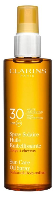 Sunscreen for skin... and hair! A sunny day must-have.