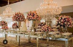 New wedding boho lights flower ideas Dessert Bar Wedding, Wedding Desserts, Wedding Table, Wedding Decorations, Trendy Wedding, Gold Wedding, Floral Wedding, Dream Wedding, Enchanted Forrest Wedding