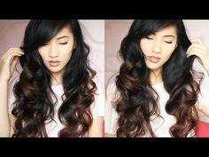 HEATLESS CURLS - OVERNIGHT | Emily Liu - YouTube