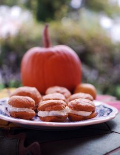 Pumpkin Cream Sandwiches | recipe from Making Life Sweet