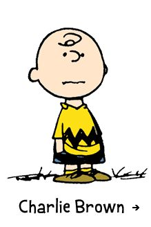 Charlie Brown - is the older brother of Sally and has a crush on the little red-haired girl.
