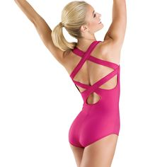 Wide Cross-Back Tank Leotard from Dancewearsolutions.com. It's so cute!