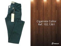 Linda calça cigarrete verde da Fargaz Inverno 2015!
