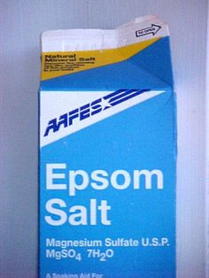 Epsom Salt   ~Use in Place of:  Houseplant food   Vegetable fertilizer   Rose plant food  ~What You Need:  1 Tablespoon Epsom Salt  1 gallon water  A watering can  ~What You Do:  1. Combine the Epsom salt and water.   2. Use the solution to water your plants.   3. Repeat once a month.  ~Why This Works:  Epsom salt is made up of magnesium and sulfate – both vital plant nutrients. ~Some magnesium-loving plants to try it on: houseplants, roses, peppers, tomatoes and potatoes