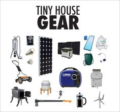 Tiny House Appliances could be interesting in terms of kitting out a tiny home but could also be a bit gimmicky