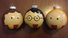 Harry Potter Ornament by LastYesterday on Etsy, $12.00