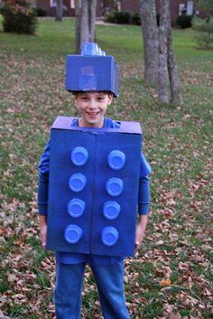 Lego boy Halloween costume