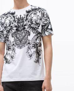 CAMISETA ESTAMPADA-Camisetas-Hombre-COLECCIÓN SS16   ZARA Ecuador
