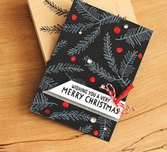 merry christmas by sideoats at @studio_calico