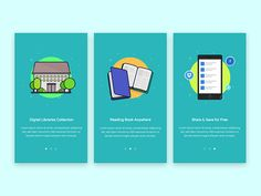 Hello good people!  Here is the full onboarding from Digital Library Apps im working in :D