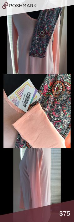 Lularoe TC Leggings Medium Lynnae NEW Outfit 🍂🌻 Fabulous NEW TC Leggings HTF Retro circles of multiple colors. Medium Peach color Lynnae. ( Run a little bigger than a Randy) NEW LuLaRoe Other