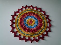 Mandala For Your Home ~ free pattern ᛡ