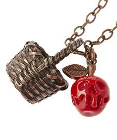 白雪姫 / 毒リンゴ&バスケット・ネックレス