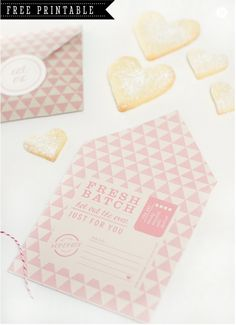 FREE printable DIY Cookie Pocket