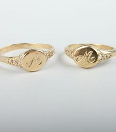 Catbird::shop by category::JEWELRY::Wedding & Engagement::Viola's Treasure Signet Ring