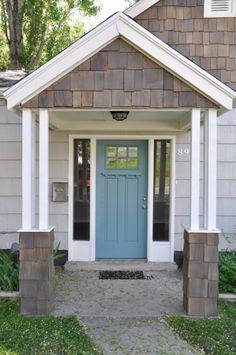 Exterior Siding Colors For House Cape Cod Super Ideas House Exterior Color Schemes, Exterior Paint Colors For House, Paint Colors For Home, Exterior Colors, Siding Colors, Exterior Design, Exterior Front Doors, Exterior Siding, Exterior Remodel