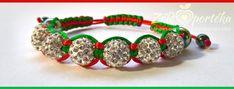 Egyedi Shamballa karkötők a Zöldportéka Webáruházban Beaded Bracelets, Earrings, Jewelry, Ear Rings, Stud Earrings, Jewlery, Jewerly, Pearl Bracelets, Ear Piercings