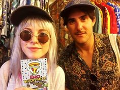 Zac Farro hayley williams Paramore 2017