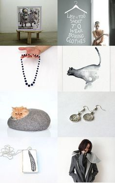 time for grey  by Sonja Zeltner-Mueller on Etsy--Pinned with TreasuryPin.com