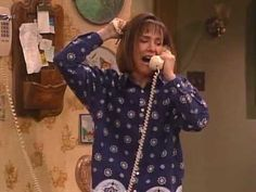 roseanne - jackie: dad's dead! ...he's fine, he sends his love! one of my favorite roseanne moments ever.