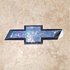 Crystal CHEVY TAHOE Emblems. What your color? Select Your Set
