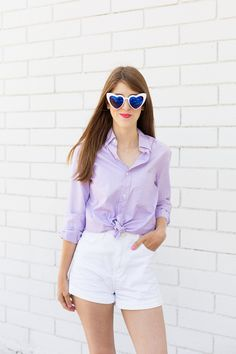 Seven Ways To Wear A Button Down Outside the Office - Studio DIY