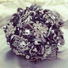# BROOCH WEDDING BOUQUETS   SILVER BROOCH BRIDAL BOUQUETS   Bridal/Boda