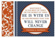 November Visiting Teaching- LDS