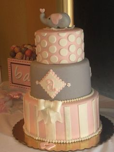 Allie Shower cake