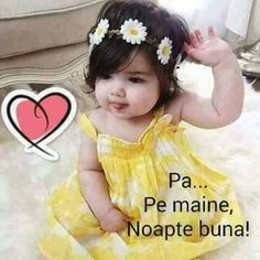 Girls Dresses, Flower Girl Dresses, Wedding Dresses, Baby, Fashion, Bom Dia, Quotes, Good Night, Dresses Of Girls