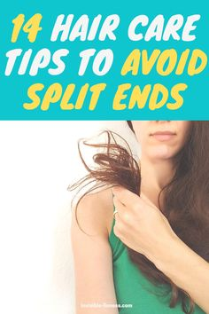 Wondering why your hair splits so easily? Follow these hair care tips to avoid split ends before they happen! Long Hair Tips, Grow Long Hair, Easy Hairstyles For Long Hair, Vitamins For Hair Growth, Hair Vitamins, Healthy Hair Tips, Healthy Hair Growth, Diy Hair Care, Hair Care Tips