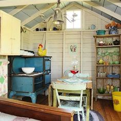 Garden Sheds You Can Live In shed turned guest house | the village | pinterest | shed guest