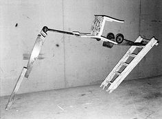 Fischli and Weiss - balance, gravity, weight, danger.