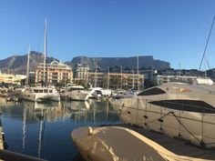 V&a Waterfront, Table Mountain, Cape Town, South Africa, River, Outdoor, Outdoors, Outdoor Games, The Great Outdoors