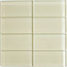 Gl Subway Tile 3x6 Cameo Cream Colored Perfect For Any