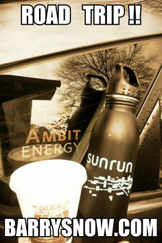 #AmbitEnergy  #SunRun  #Solar BarrySnow.com  #RoadTrip .:. for more info:  http://snow.EnergyGoldRush.com