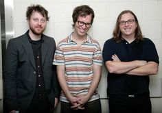 Ben folds, Darren Jesse, and Robert Sledge. Together they are Ben Folds 5 ! Do the math Live Music, My Music, Rock Music News, Ben Folds, Fathers Day Wishes, Piano Man, Do It Anyway, The Life, News Songs