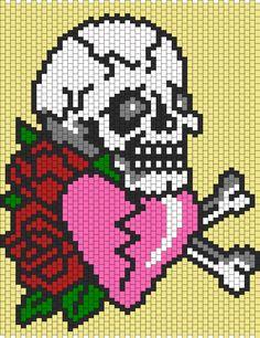 Ed Hardy Love Eternal bead pattern