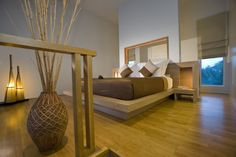 OCEAN VIEW LOFT - Bedroom @Amy Lee Luxery Resort Phuket -  @Aleenta Luxery Resort Phuket - Get all your detailed Information  here:  http://www.aleenta.com/phuket/accommodation/ocean-view-lofts.php