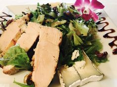 Asian Pear Salad with Grilled Chicken!