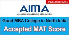 """MAT Feb 2015 takers are probably for the first time are blessed with a round of good options of MBA admission available to them till next few days in the good B schools in North India"""""""