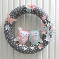Best Owl Wreath Products on Wanelo