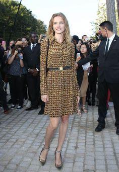 Natalia Vodianova.. PFW..... - Celebrity Fashion Trends