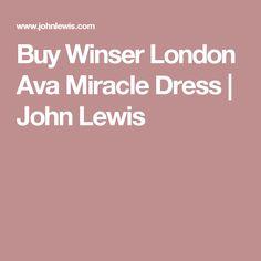 Buy Winser London Ava Miracle Dress | John Lewis